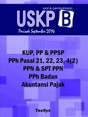 USKP B All Taxes Pembahasan 2018