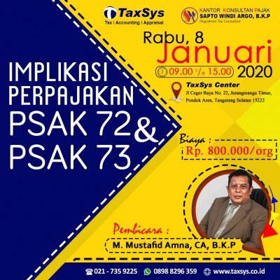 PSAK 72 & 73 workshop